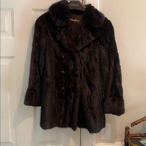 Vintage 3/4 length Mink Coat